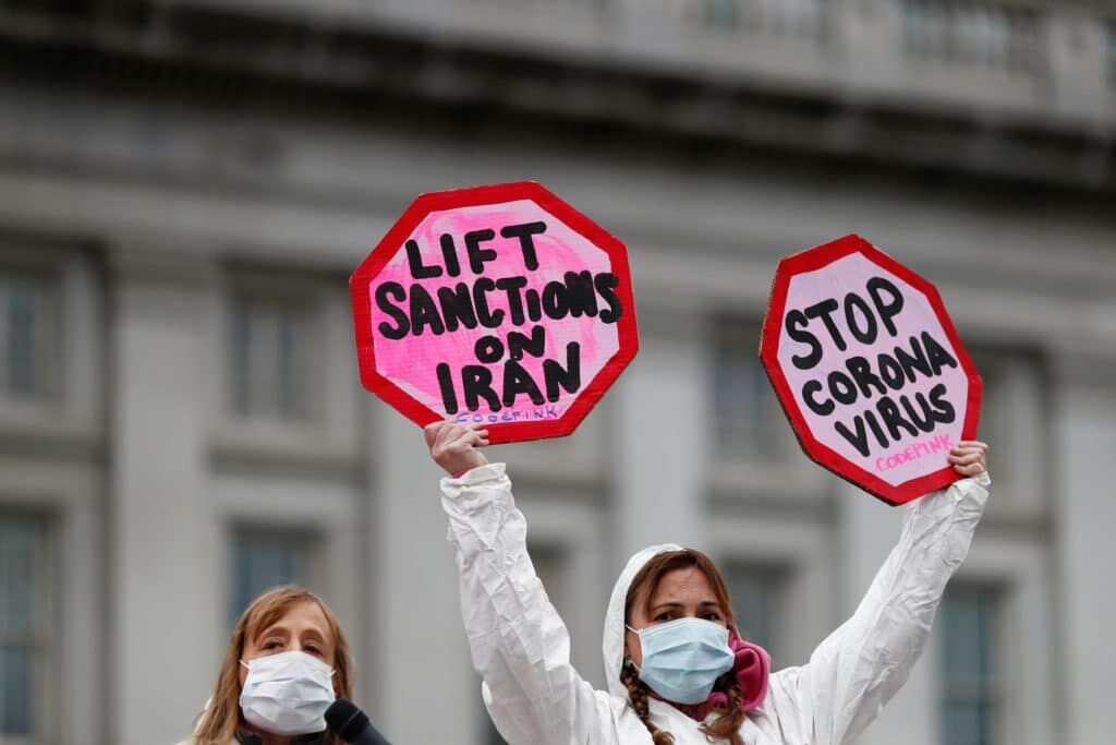 Women political leaders ask for Iran sanctions ease