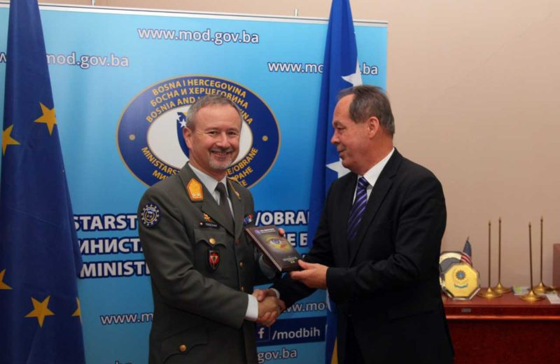 Trischak: I have met no more dedicated and professional soldiers than AFBiH