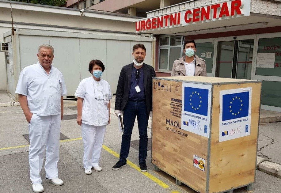 UNDP hands over ultrasound machine procured with EU funds to General Hospital