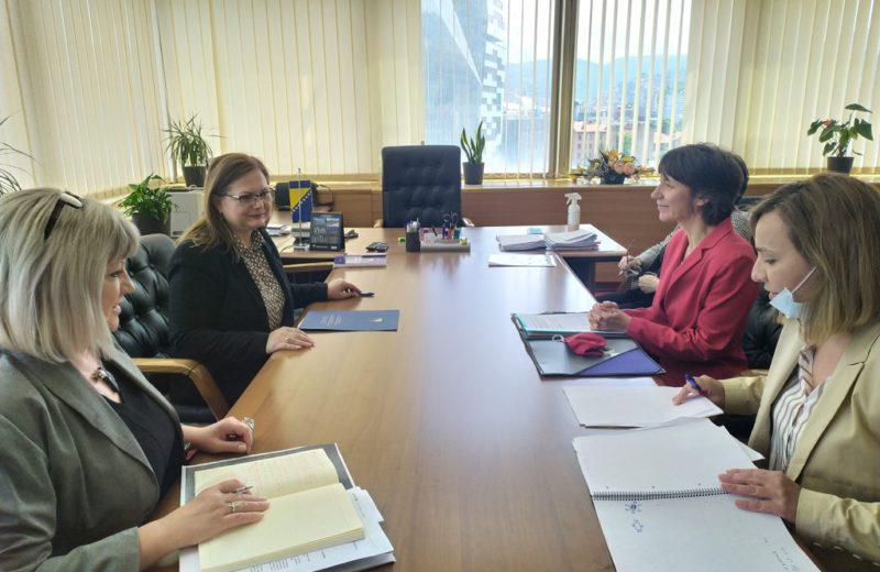 Gudeljević and Ambassador Saxer on cooperation between Switzerland and BiH