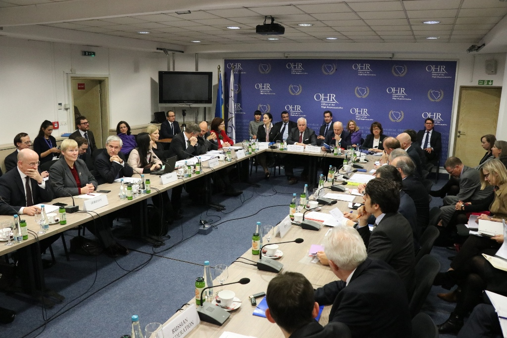 PIC SB calls on BiH authorities to adopt action plan for 14 key priorities
