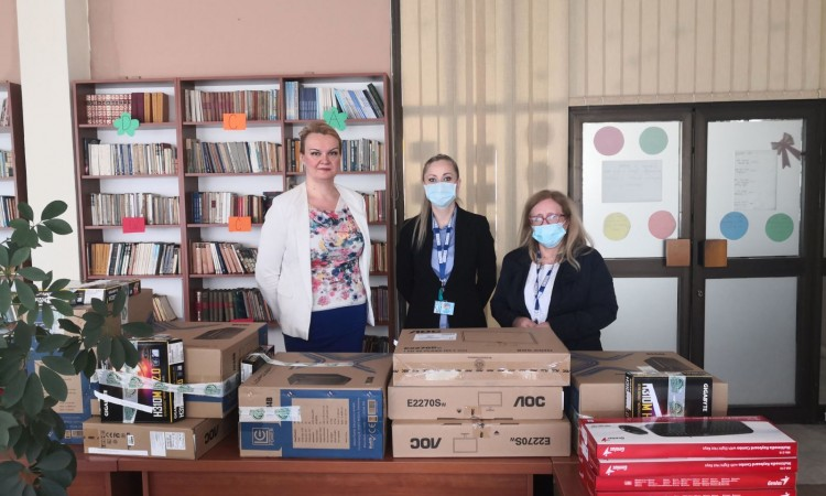 OSCE donates IT equipment to home for children without parental care in Zenica