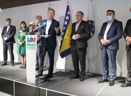 Izetbegović: We have good results in fight against pandemic