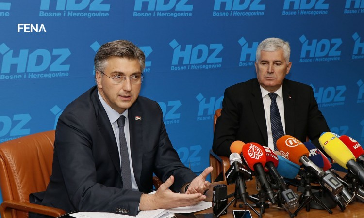 Plenković: We strongly support BiH on its path towards EU and NATO