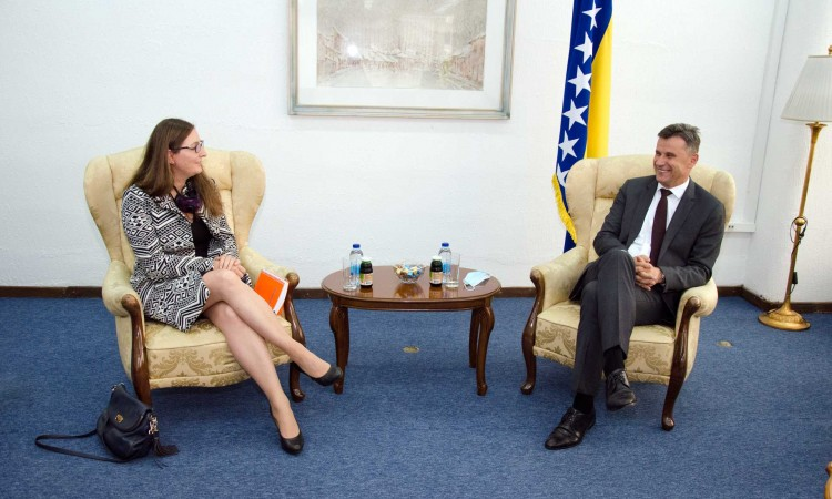 Novalić and Naessl discuss implementation and continuation of joint projects
