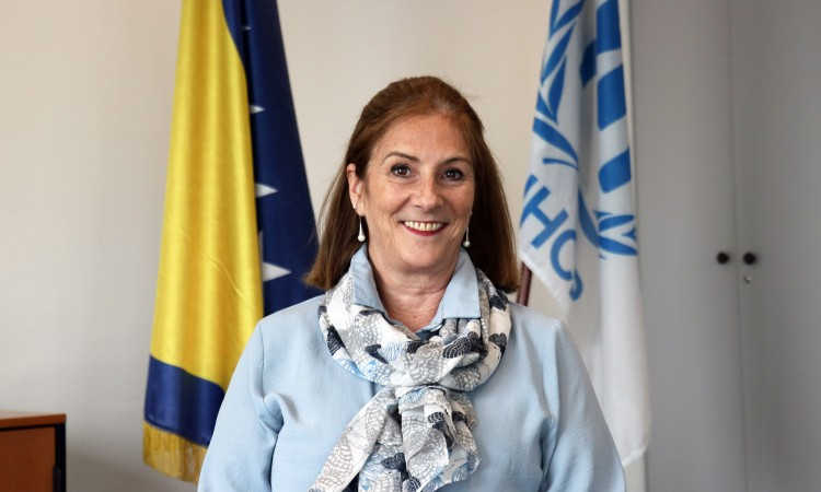 Lucie Gagne: It is vital that the asylum system in BiH works