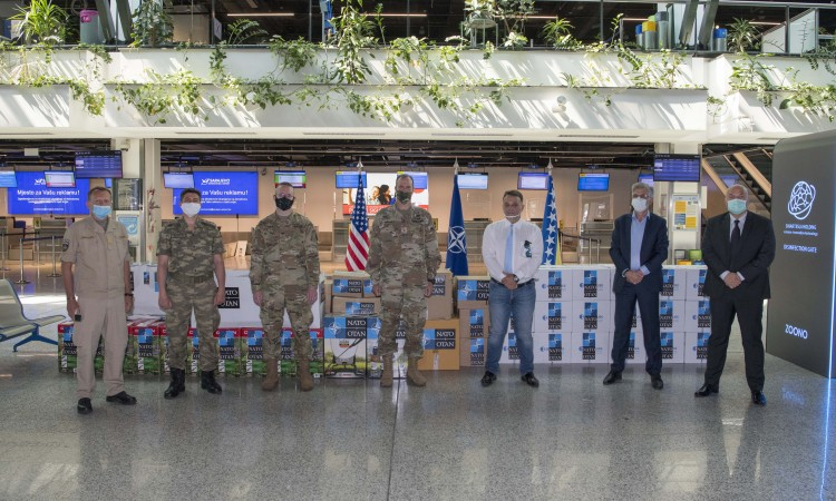 United States and NATO hand over donation to Sarajevo International Airport