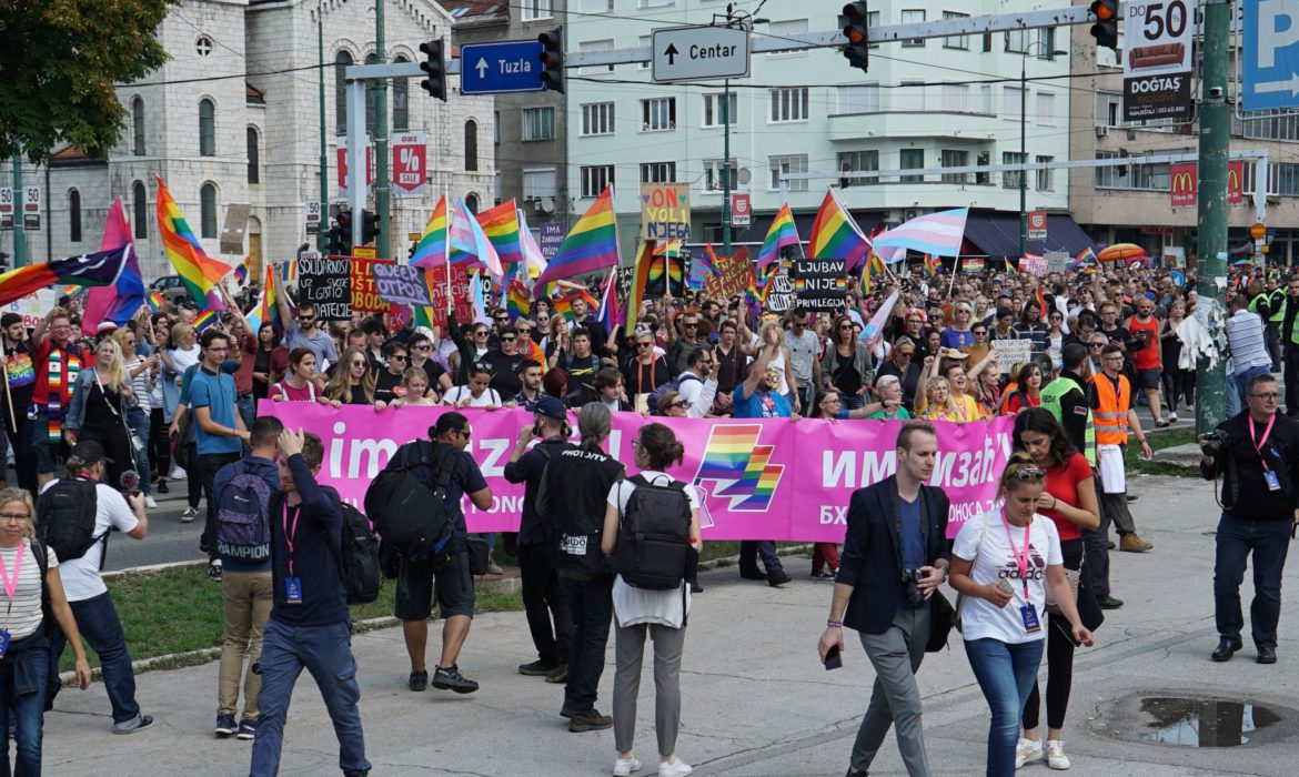 The second BiH Pride March to take place on August 23 in Sarajevo