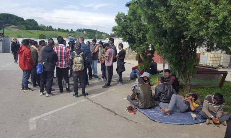 Around seven thousand migrants are currently residing in Una-Sana Canton