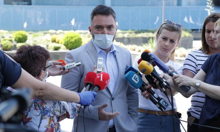 Košarac expresses disappointment since expert team for Trgovska gora has not been formed