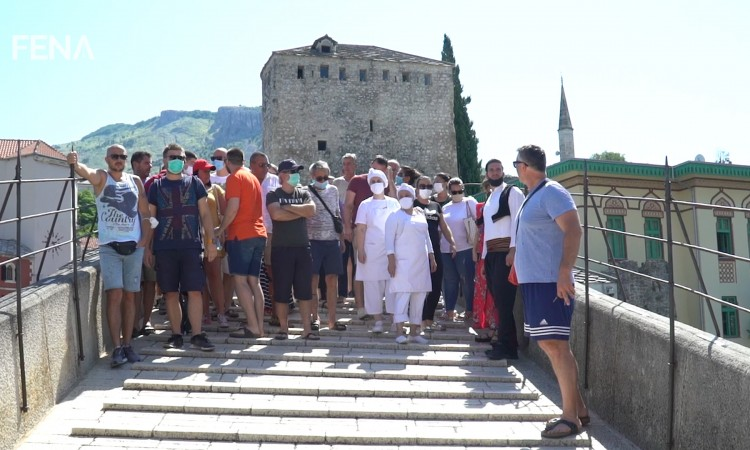 Tourism workers in Mostar urge for the opening of BiH borders