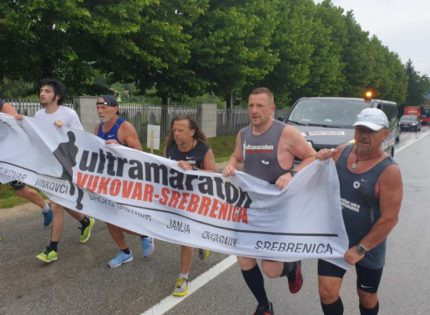 This year's Vukovar – Srebrenica Ultramarathon with a symbolic run starts July 6