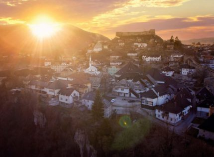 Jajce is a city that offers an abundance of natural beauties and historical sites