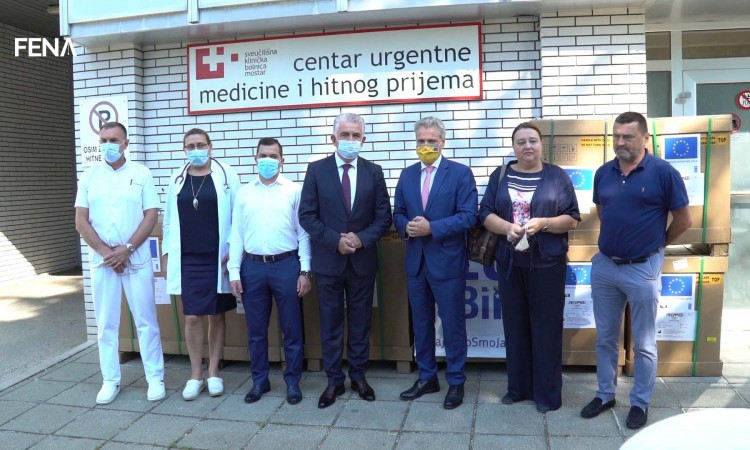 European Union donates medical equipment to University Clinical Hospital Mostar
