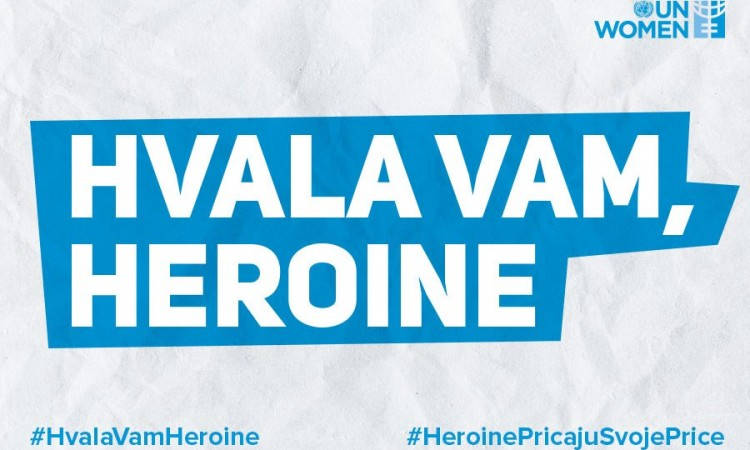 UN Women in BiH launches 'Thank you, heroines' campaign