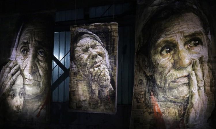 Exhibition 'Exodus' by renowned Bosnian painter Safet Zec opens in Potočari