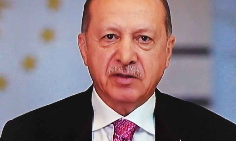 Erdogan: We will never leave you alone in your search for justice
