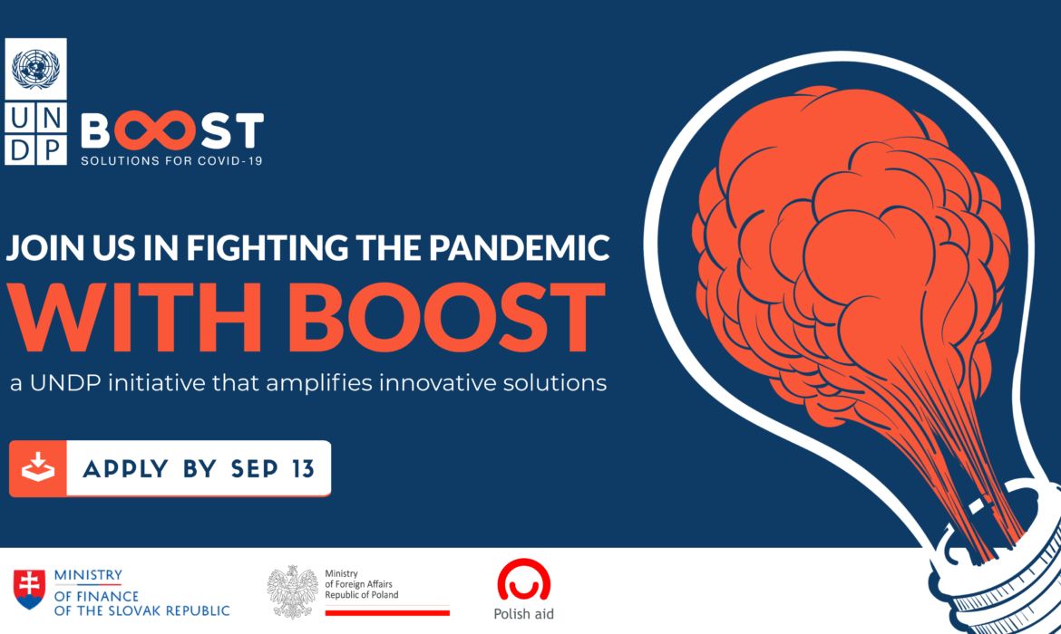 New UNDP BOOST platform uses social impact innovation to tackle Covid-19 crisis