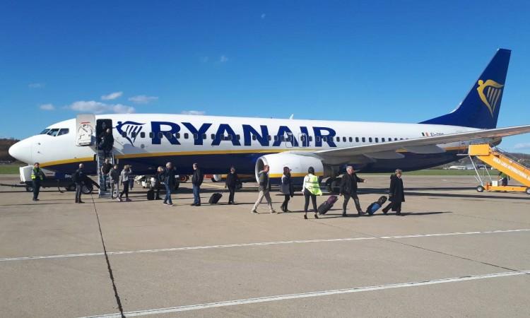 Ryanair reestablishes flights from Banja Luka