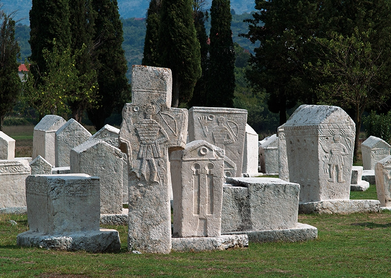 The stećak necropolis in Polog near Mostar declared a national monument of BiH