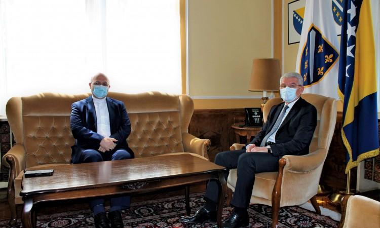 Džaferović – Heidari: Expansion of economic cooperation between BiH and Iran