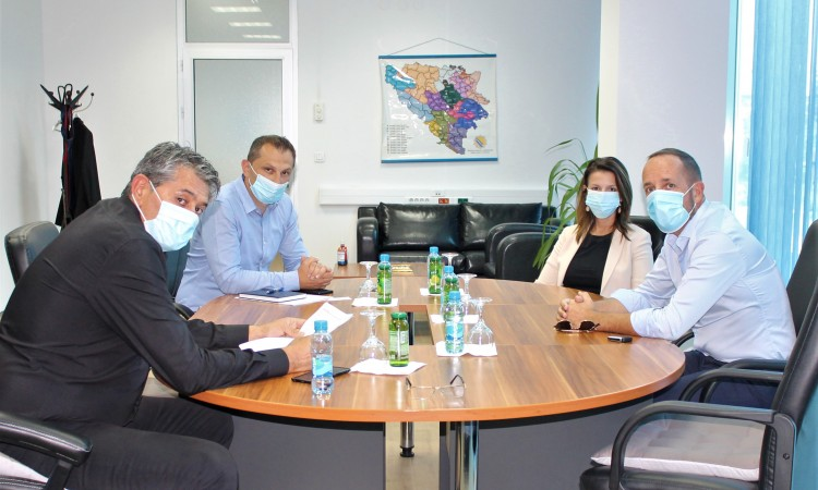 Head of IOM Mission to BiH visits Service for Foreigners' Affairs