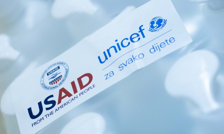 UNICEF and USAID on a mission to support safe reopening of schools