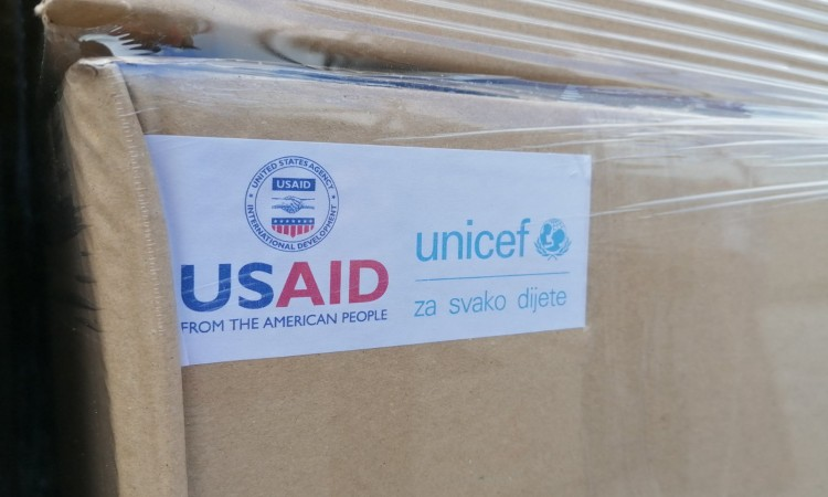 UNICEF and USAID on a support mission for the most vulnerable population
