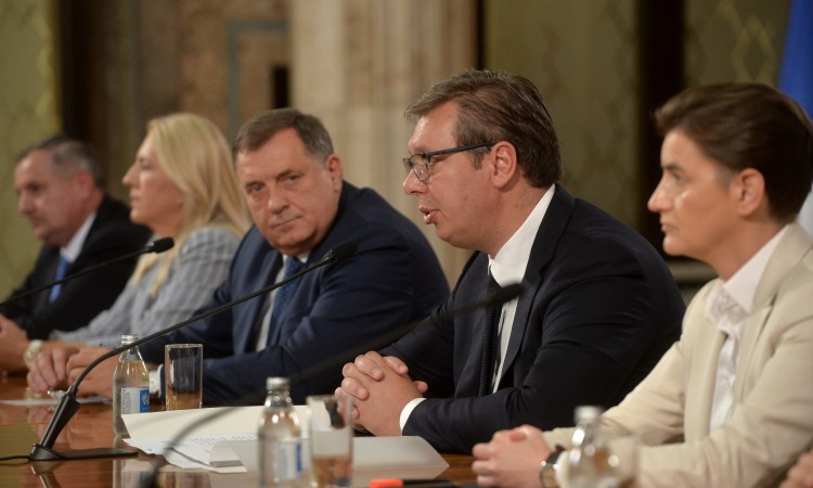 Vučić: Serbia's interest is peace and preservation of RS under the Dayton PA