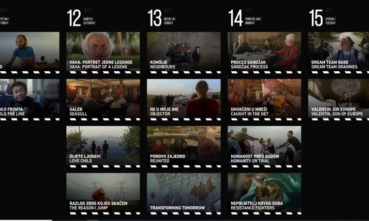 The program of the 3rd AJB Documentary Film Festival announced today