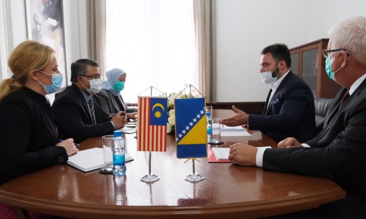 Košarac and Jaafar discuss meat exports from BiH to Malaysia