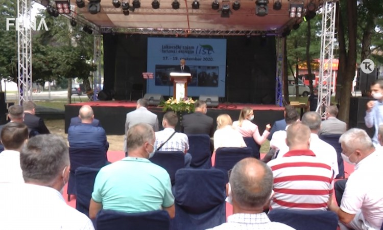 The 18th International Fair of Tourism and Ecology 'List' opens in Lukavac