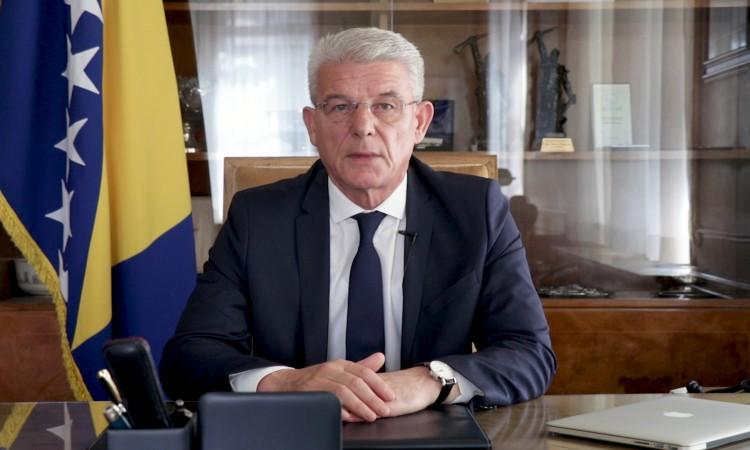 Chairman Džaferović extends condolences to Turkish President Erdogan