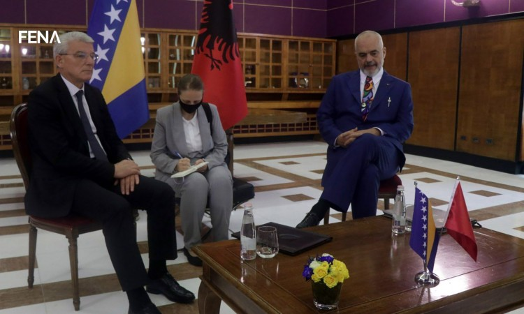 Rama-Džaferović: Mutual interest in improving relations between Albania and BiH
