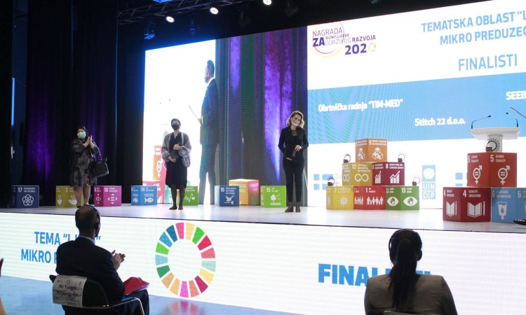 Awards for SDG Business Pioneers in BiH for 2020 presented today