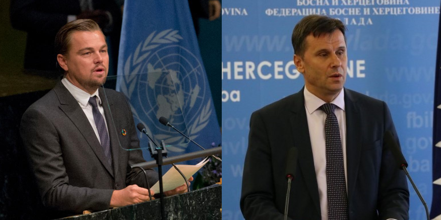 Leonardo DiCaprio commends Novalić's position on the ban on the construction of SHPPs