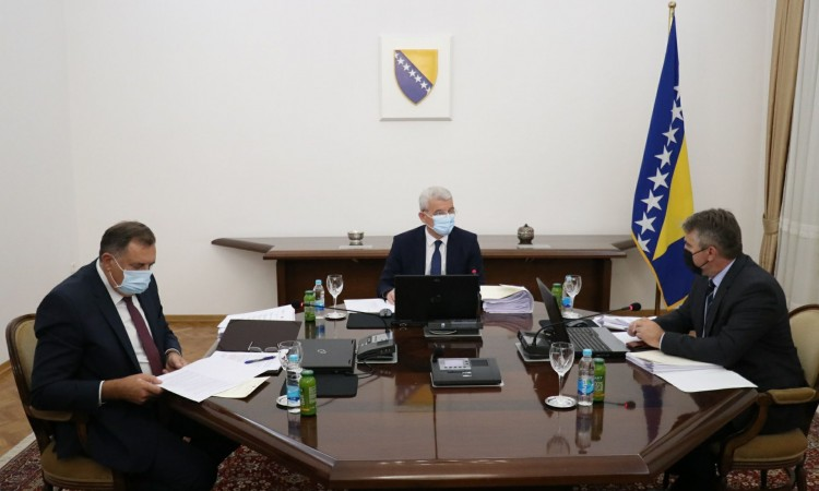 BiH Presidency urges all the institutions to work on meeting the EU priorities
