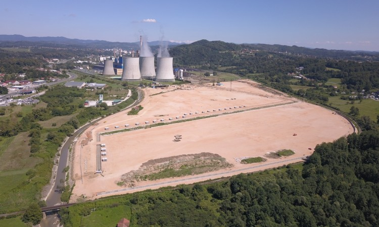Construction site of Block 7 of Tuzla TPP to be handed over to Chinese partner