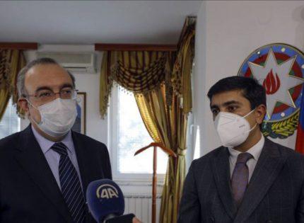 Turkish Ambassador Koc visits the Embassy of Azerbaijan in BiH and pays tribute to killed civilians