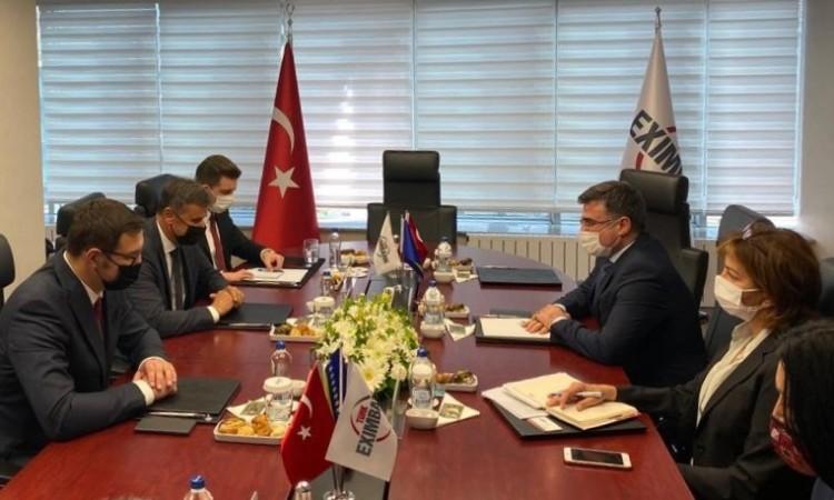 Novalić and Exim Bank leaders on airport in Bihać and Sarajevo-Belgrade motorway