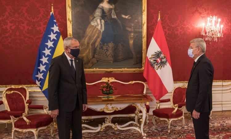 Van der Bellen – Džaferović: Austria provides full support to BiH on its EU path