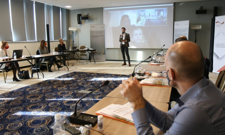 Regional exchange of experiences in the fight against trafficking in human beings