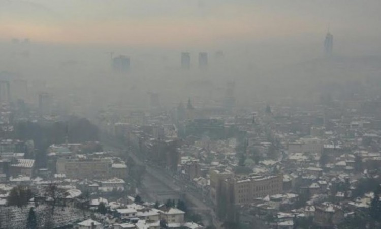 State of alertness once again announced for Sarajevo Canton due to air pollution