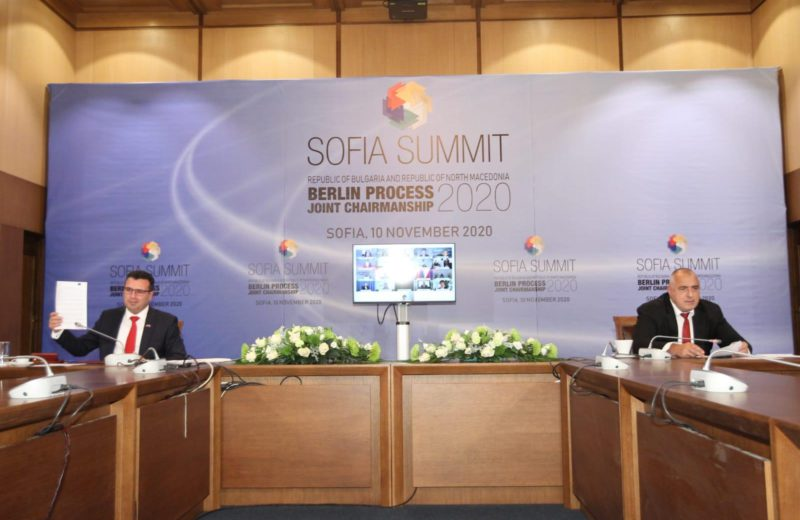 Berlin Process 2020 Sofia Summit: Western Balkans Leaders Sign Declaration on Regional Common Market, Green Agenda