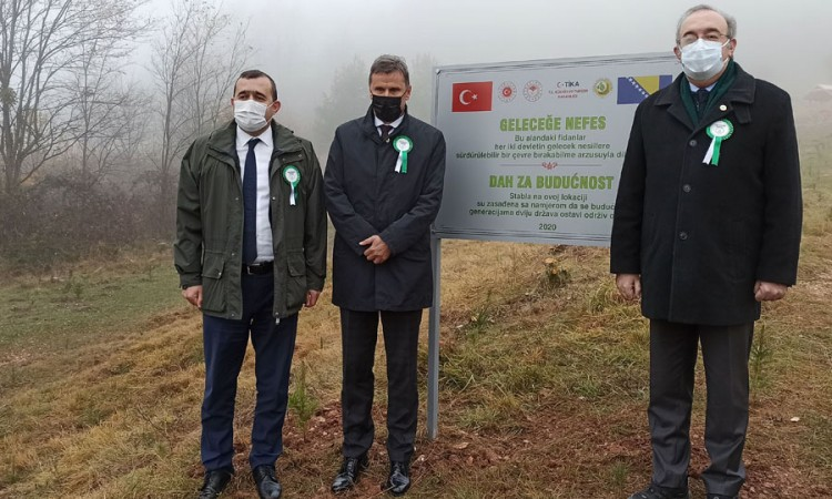 FBiH PM and Turkish Ambassador take part in nature conservation campaign