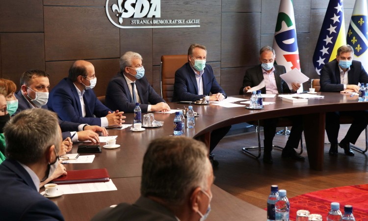 SDA: Palmer's approach meets only the requests of HDZ BiH