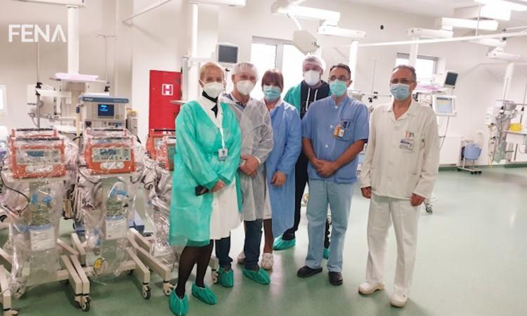 Izetbegović: The ventilators we received today will be of great help