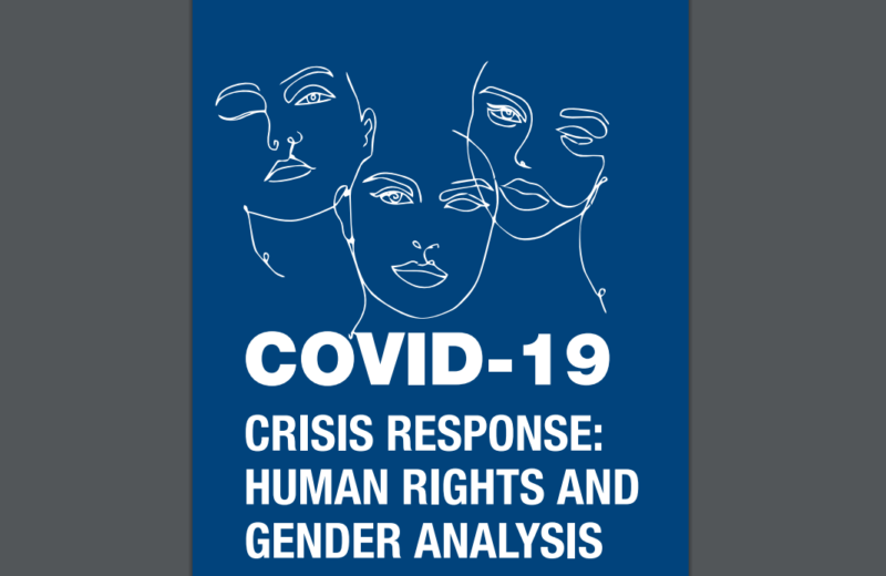 OSCE Mission presents a report on responses to COVID-19 pandemic