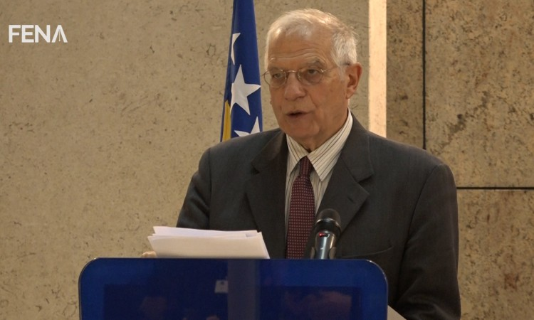 Borrell: Let's make a good use of anniversary to move from Dayton to Brussels