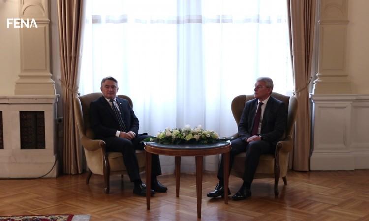 Komšić and Džaferović: BiH needs to turn towards positive processes